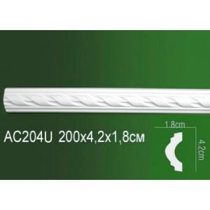 Молдинг полиуретановый AC204U