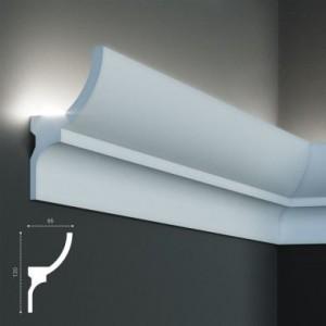KF 714 (2м) Карниз для скрытой подсветки