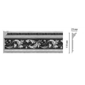 Плинтус потолочный DECOMASTER D225-63 ШК (110*29*2400мм)