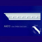 потолочный плинтус с орнаментом AA013