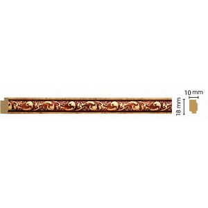 Интерьерный багет 158-552