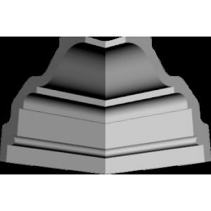 Уголки к потолочному плинтусу GP70