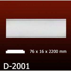 Дверной декор D2001(76*16*2200) OptimalDecor
