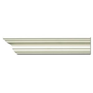 Плинтус потолочный с гладким профилем K203