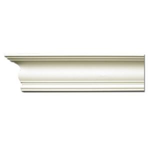 Плинтус потолочный с гладким профилем K206