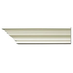 Плинтус потолочный с гладким профилем K220