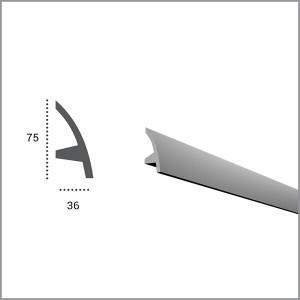 Карниз гибкий для светодиодной подсветки KF 502