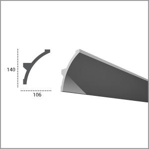 Карниз гибкий для светодиодной подсветки KF 708