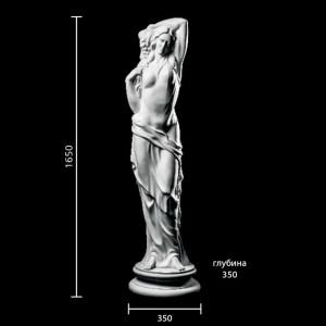 Статуя Девушка с виноградом ST-007