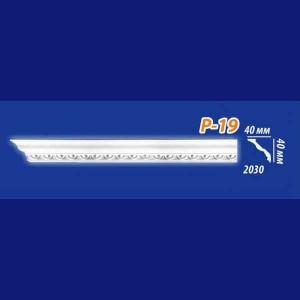Плинтус потолочный инжекционный Kenopol Р19