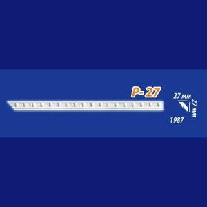 Плинтус потолочный инжекционный Kenopol Р27
