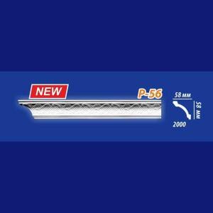 Плинтус потолочный инжекционный Kenopol Р56