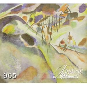 Фреска абстракт фр0905
