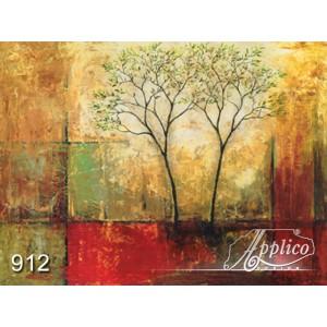 Фреска абстракт фр0912