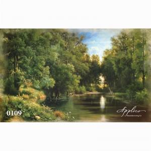 Фреска классический пейзаж фр109
