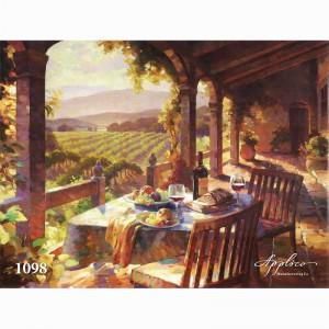 Фреска классический пейзаж фр1098