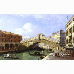Фреска классический пейзаж фр1104