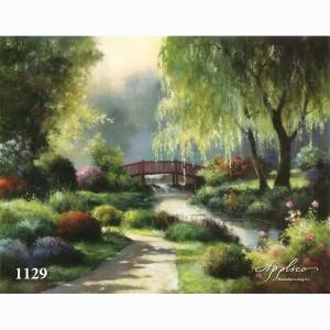 Фреска классический пейзаж фр1129
