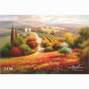 Фреска классический пейзаж фр1130