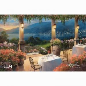 Фреска классический пейзаж фр1134