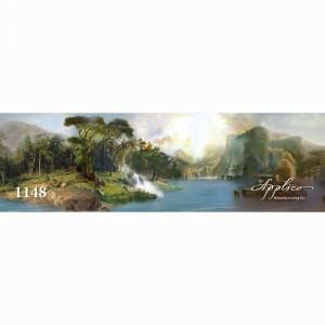 Фреска классический пейзаж фр1148