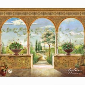 Фреска классический пейзаж фр1156