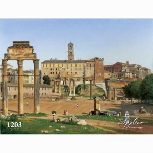 Фреска классический пейзаж фр1203