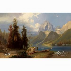 Фреска классический пейзаж фр1209