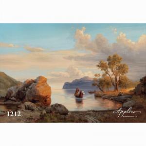 Фреска классический пейзаж фр1212