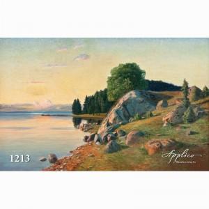 Фреска классический пейзаж фр1213
