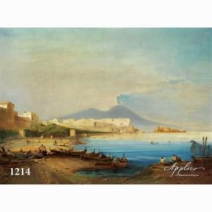 Фреска классический пейзаж фр1214