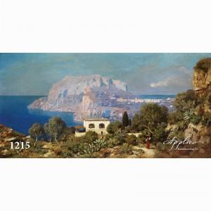 Фреска классический пейзаж фр1215