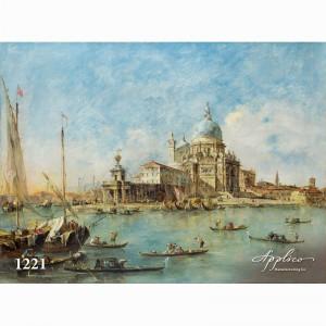 Фреска классический пейзаж фр1221