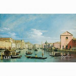 Фреска классический пейзаж фр1237