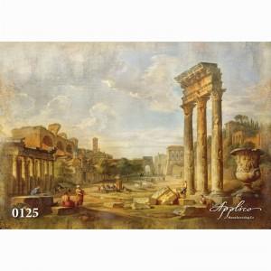 Фреска классический пейзаж фр125