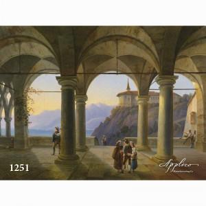 Фреска классический пейзаж фр1251