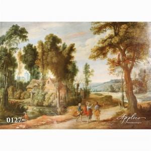 Фреска классический пейзаж фр127