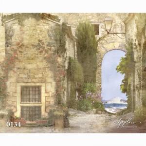 Фреска классический пейзаж фр134 в Рязани