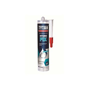 """Клей монтажный """"Hydro Fix"""" акрилатный прозрачный (Tytan) 310мл"""